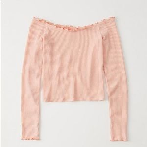 Abercrombie and Fitch Off the Shoulder Top